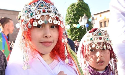 People celebrate Amazigh New Year in Rabat, Morocco - Global Times