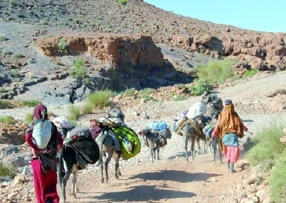 La femme marocaine à la campagne - MAROC MAGIQUE