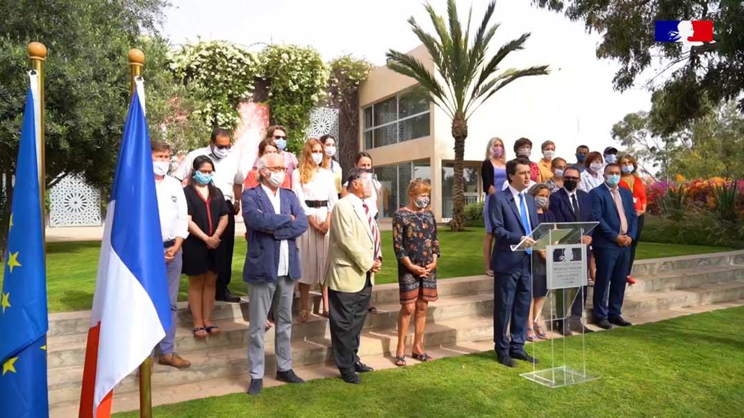Le consul général de France à Agadir prononce son discours en langue amazighe